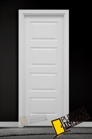 Puerta lacada blanca lac 104 puertas innova s l u for Puerta lacada blanca