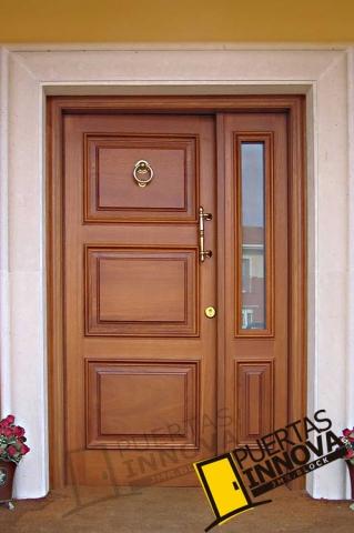 Puertas para exteriores puertas innova s l u for Puertas para calle modernas