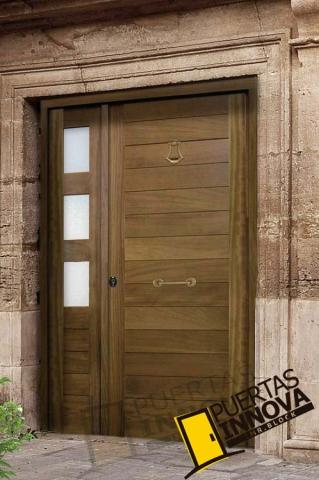 Cat logo puertas de exterior modernas puertas innova s l u for Catalogo de puertas de madera modernas