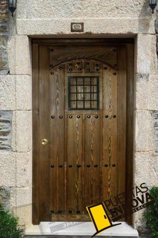 Puerta exterior r stica modelo 7 puertas innova s l u - Puerta rustica exterior ...