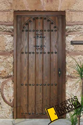 Puerta exterior r stica modelo 5 puertas innova s l u - Puertas exterior asturias ...