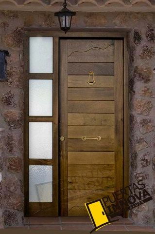 Puertas para exteriores puertas innova s l u for Puertas modernas precios