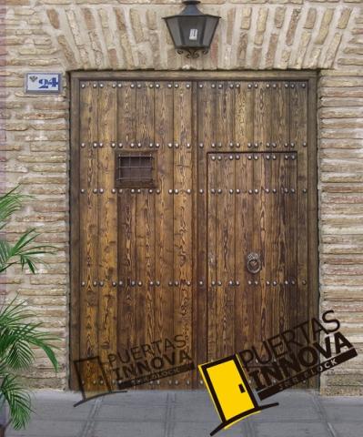 Mod pre 1 port n puertas innova s l u - Puertas exterior asturias ...