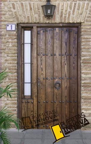 Puertas Rusticas De Madera De Exterior Puertas Innova S L U