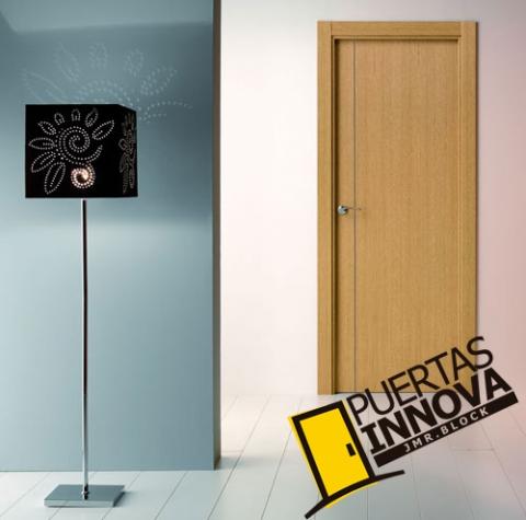 Cat logo puertas de interior modernas puertas innova s l u for Puertas madera interiores catalogo