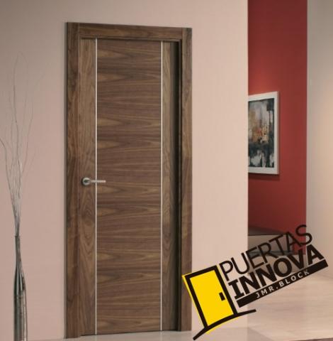 puerta interior moderna aluminio precio base
