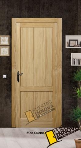 puerta interior rústica modelo cuenca W