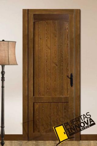Cat logo puertas r sticas de interior puertas innova s l u for Puertas madera interiores catalogo