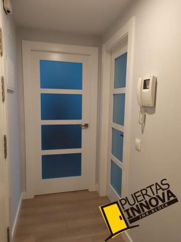 Puertas blancas lacadas modelo lac-5104