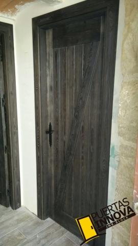 Puertas rusticas modelo granero en z puertas innova s l u - Puertas valera de abajo ...