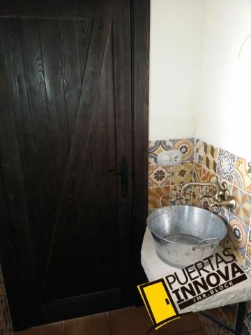 Puertas de interior rusticas modelo Z granero