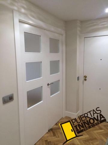 Puertas blancas lisas puertas innova s l u - Puertas lisas blancas ...