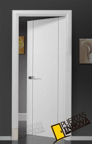 puertas blancas linea eco puertas innova s l u