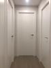 Puertas blancas rayas vertical