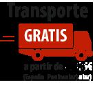 transporte gratis para pedidos superiores a 300€