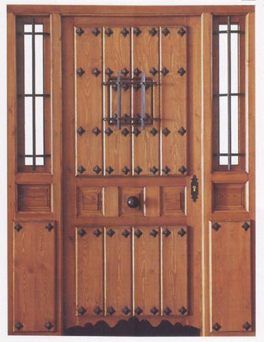 Puerta exterior r stica for Puertas rusticas exterior