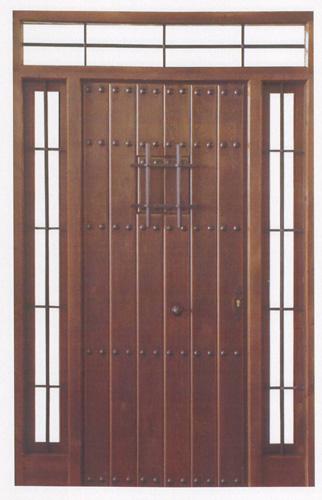 Puerta exterior r stica exterior rustica 23 - Puerta rustica exterior ...