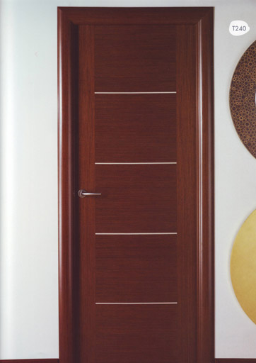 Puerta interior moderna t240 for Catalogo puertas interior