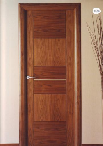 Puerta interior moderna t560 for Catalogo puertas interior