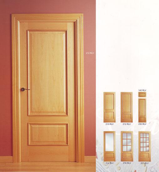 Puerta interior cl sica modelo cla2 for Cristales para puertas de interior precios