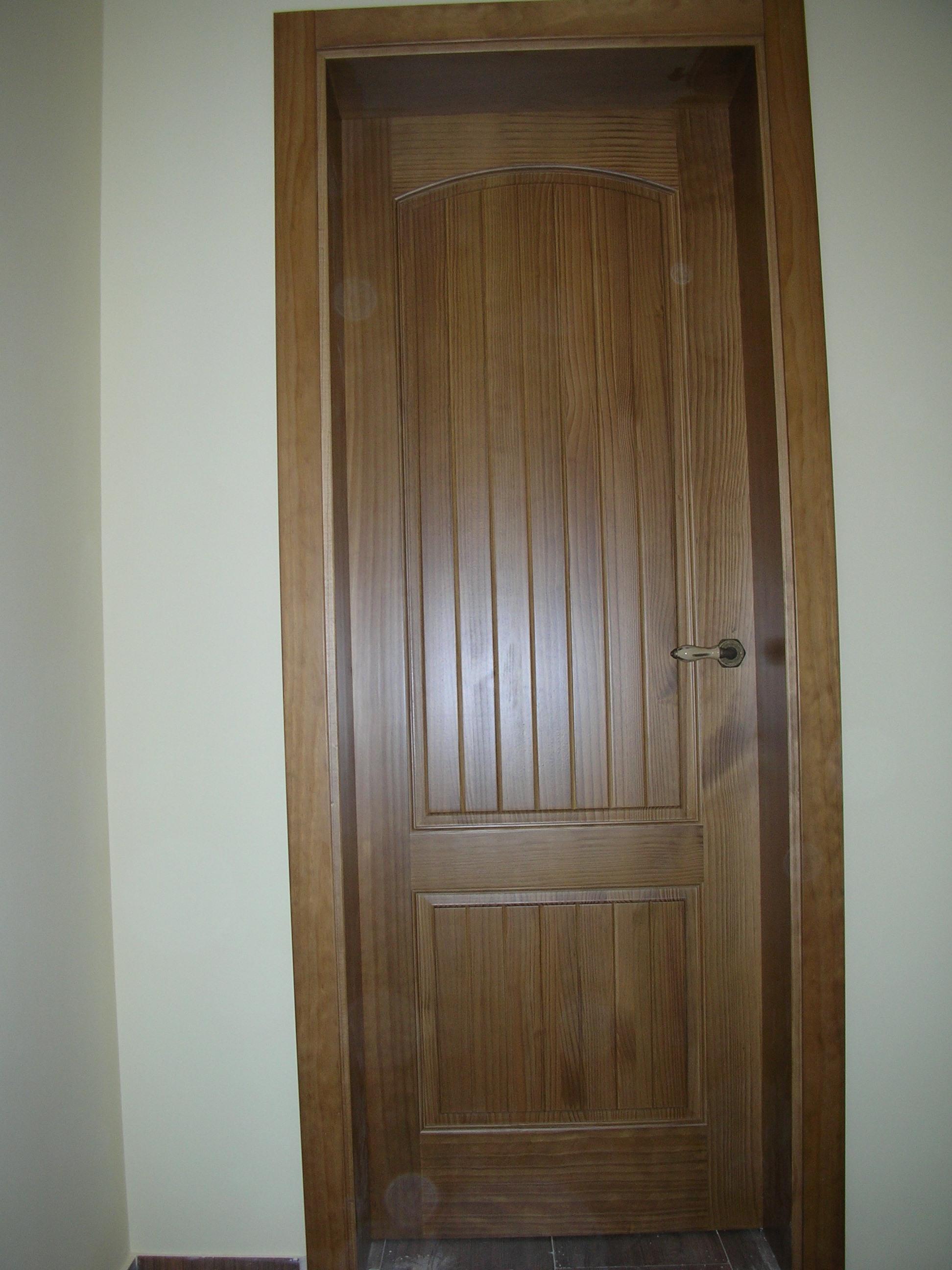 Puerta interior r stica modelo cuenca - Puertas rusticas interior ...