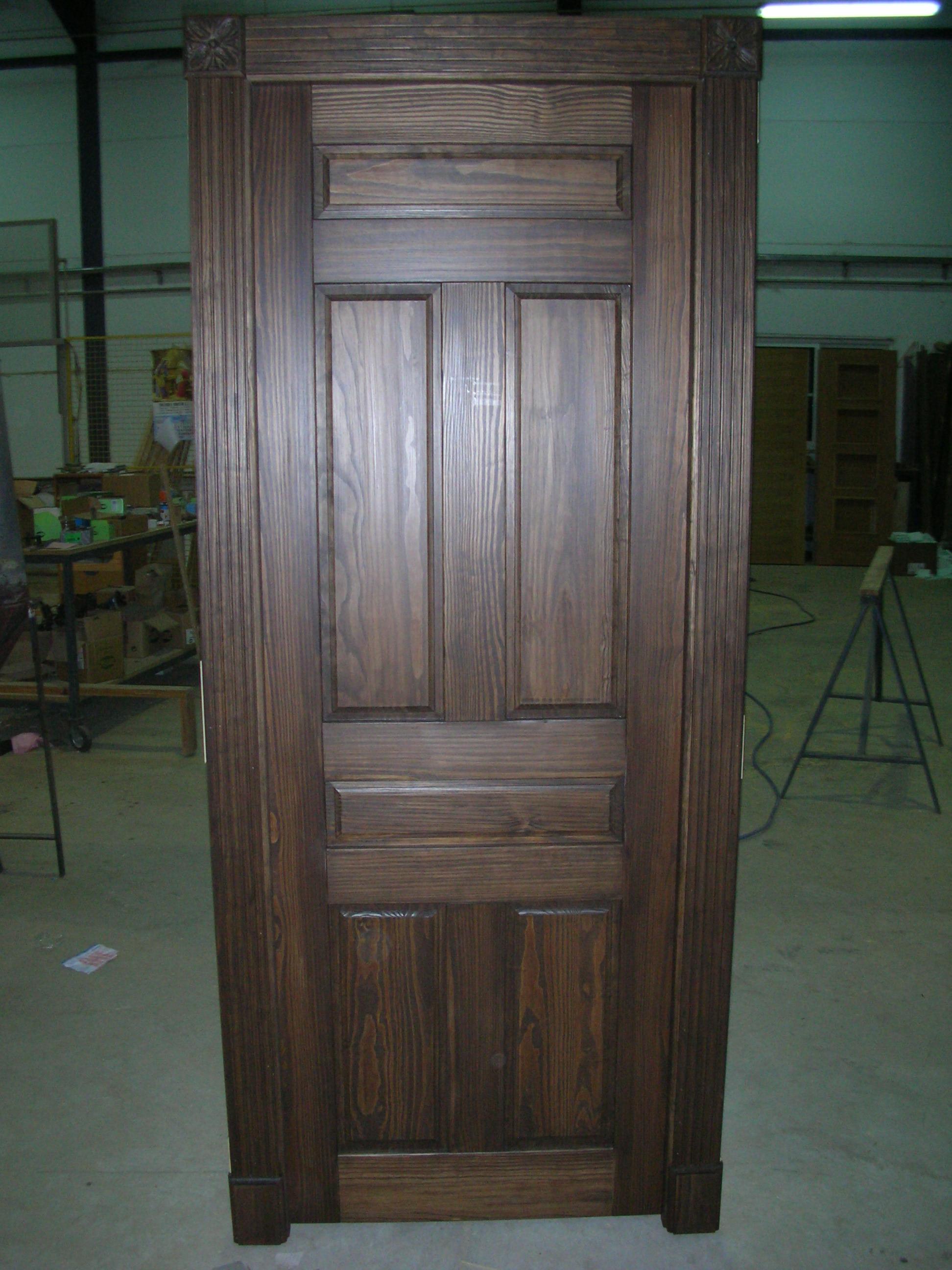 Puerta interior r stica modelo iker - Puertas rusticas interior ...