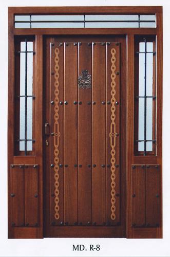 Puerta exterior r stica exterior rustica r8 - Puerta rustica exterior ...